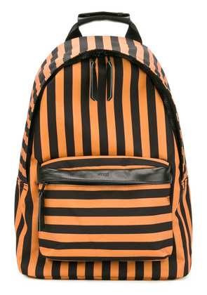 Ami Alexandre Mattiussi zipped backpack - Yellow