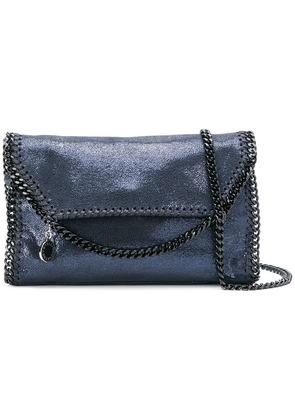 Stella McCartney intervowen hardware shoulder bag c - Blue