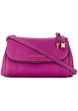 Marc Jacobs logo plaque crossbody bag - Purple