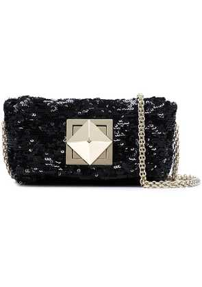 Sonia Rykiel sequined cross body bag - Black