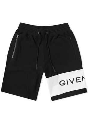 Givenchy Basketball Sweat Short Black