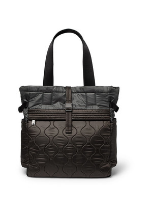 Paul Smith - Quilted Nylon Tote Bag - Dark gray