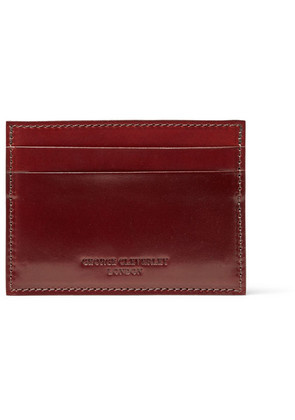 George Cleverley - Horween Shell Cordovan Leather Cardholder - Tan