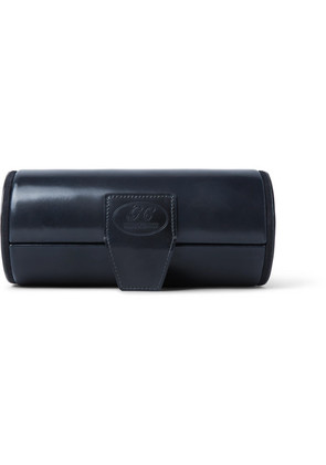 George Cleverley - Horween Shell Cordovan Leather Watch Roll - Navy