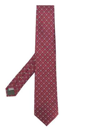 Canali classic tie - Red
