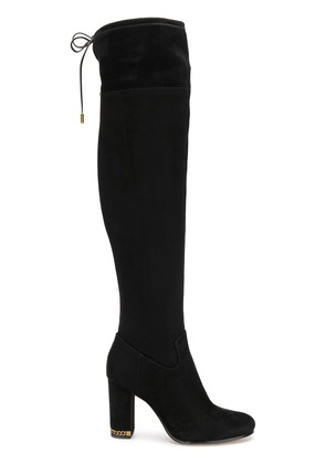 Michael Michael Kors suede over the knee boots - Black