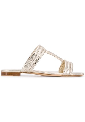Tod's Double T sandals - Gold