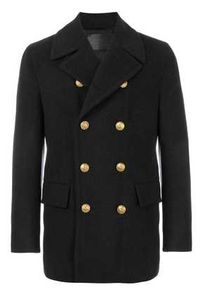Dolce & Gabbana classic double breasted coat - Grey