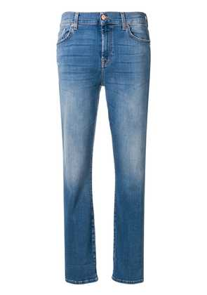 7 For All Mankind cropped slim fit jeans - Blue