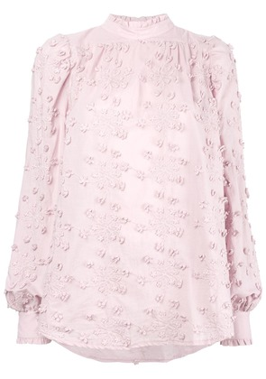 See By Chloé embroidered top - Pink