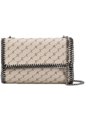 Stella McCartney Fallabella Monogram crossbody bag - Neutrals