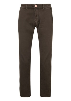 Barba classic skinny-fit jeans - Brown