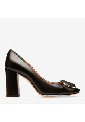 Bally Clarie Black, Women's calf leather pump with 85mm heel in black