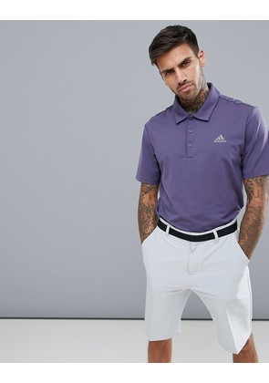 adidas Golf Ultimate 365 Polo Shirt In Purple CY5400 - Purple