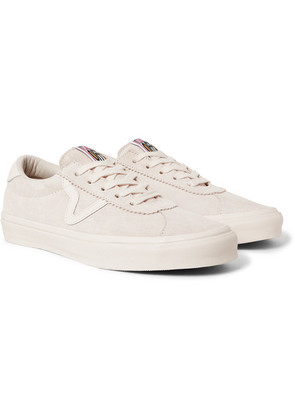Vans - Epoch Sport Lx Leather-trimmed Suede Sneakers - Off-white