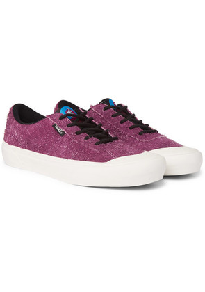 Vans - + Pop Trading Company Agah Pro Brushed-suede Sneakers - Burgundy