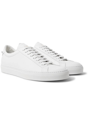 Givenchy - Urban Street Leather Sneakers - White