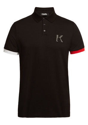 Karl Lagerfeld Cotton Polo T-Shirt