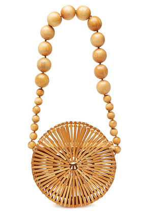 Cult Gaia Bamboo Luna Shoulder Bag