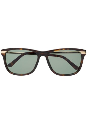 Cartier Santos de Cartier sunglasses - Brown