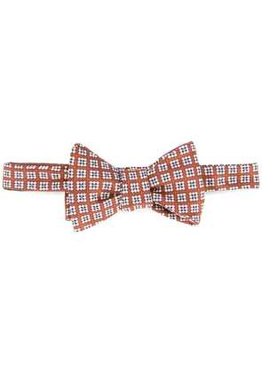Gieves & Hawkes textured bow tie - Yellow
