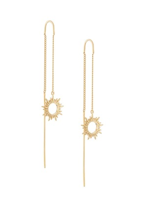 Rachel Jackson Sunray Threader earrings - Metallic