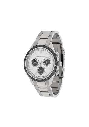 Larsson & Jennings Rally Silver 3Link 38mm watch