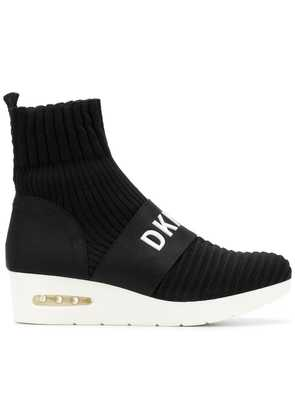 DKNY knitted boots - Black