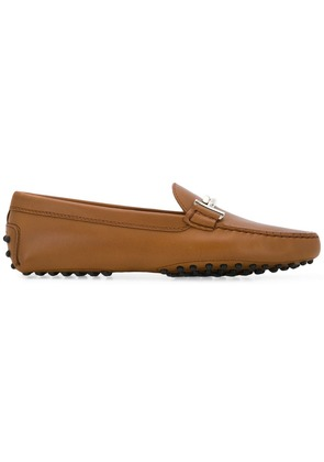 Tod's flat loafers - Brown