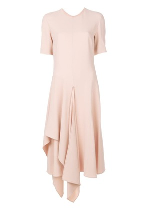 Stella McCartney drape detail dress - Pink