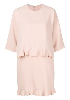 Stella McCartney ruffle trim dress - Pink