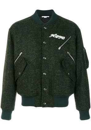 Stella McCartney classic bomber jacket - Green