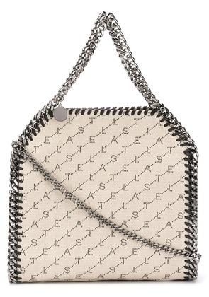 Stella McCartney mini Falabella Monogram tote - Neutrals