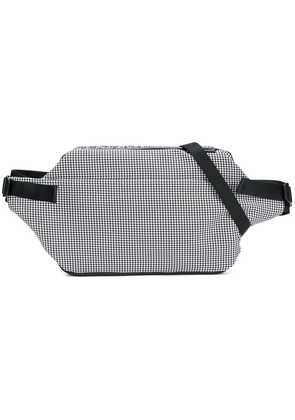 Côte & Ciel puppytooth check crossbody bag - Black