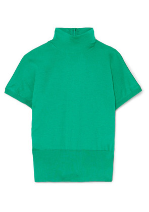 Dolce & Gabbana - Silk Turtleneck Sweater - Green