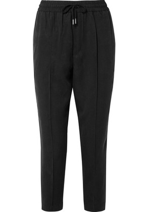 ATM Anthony Thomas Melillo - Cropped Twill Tapered Pants - Black