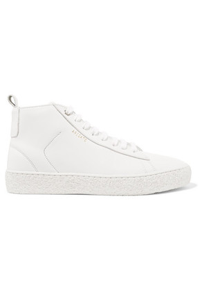 Axel Arigato - Court Leather High-top Sneakers - White