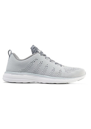 APL Athletic Propulsion Labs - Techloom Pro Mesh Sneakers - Gray
