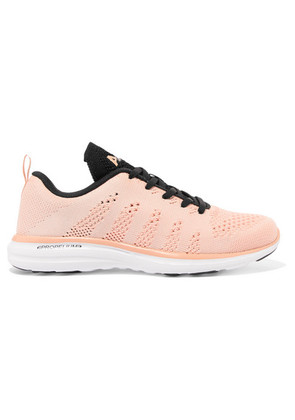 APL Athletic Propulsion Labs - Techloom Pro Mesh Sneakers - Blush