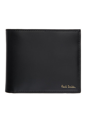 Paul Smith Black Leather Naked Lady Bifold Wallet