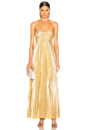 Alexis Joya Dress in Metallic