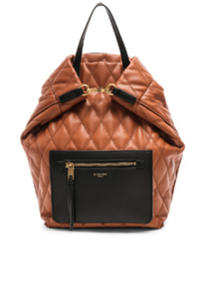 Givenchy Duo Backpack in Black,Neutral