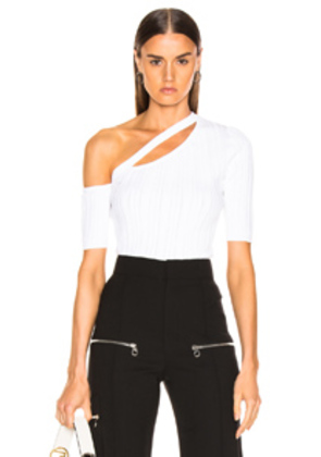 Cushnie Emmy Top in White