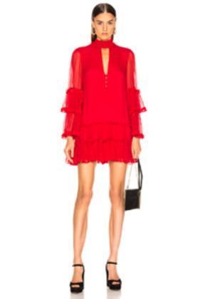 Alexis Naoko Dress in Red