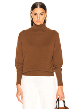 NILI LOTAN Ralphie Sweater in Brown