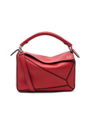 Loewe Puzzle Small Bag in Red