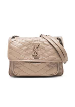 Saint Laurent Monogramme Niki Shoulder Bag in Neutral