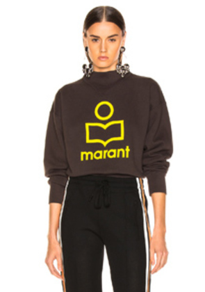Isabel Marant Etoile Moby Sweater in Black,Gray