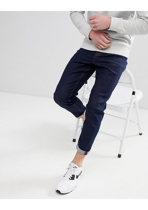 New Look Tapered Jean In Navy - Navy