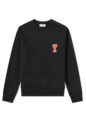 AMI Heart Patch Sweat Black